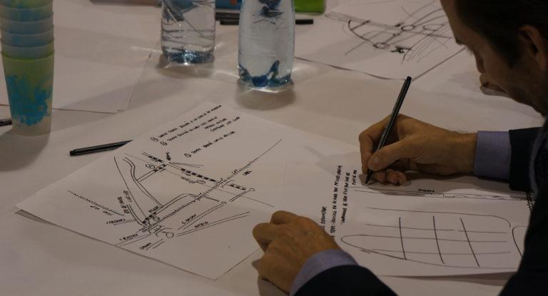 Concept urbain - Espaces ouverts de Plan-Dessus